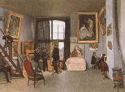 Frederic Bazille The artist-s Studio china oil painting reproduction