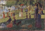 Georges Seurat L-ll de la Grand Jatte china oil painting reproduction