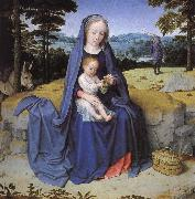 Gerard David Vila during the flight to Egypt china oil painting reproduction