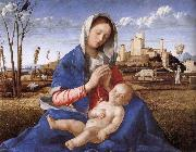 Giovanni Bellini Madonna pa indicated china oil painting reproduction