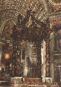 Giovanni Lorenzo Bernini The Baldacchino china oil painting reproduction