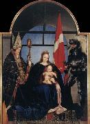 HOLBEIN, Hans the Younger The Solothurn Madonna china oil painting reproduction