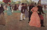 Henri Evenepoel Sundy in the Bois de Boulogne china oil painting reproduction