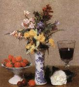 Henri Fantin-Latour Still lIfe with Flowens and Fruit china oil painting reproduction