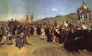 Ilya Repin Religious Procession in the Province of Kursk china oil painting reproduction