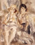 Jules Pascin Two gitana china oil painting reproduction
