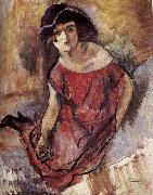 Jules Pascin The beautiful girl from England china oil painting reproduction
