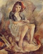 Jules Pascin The Girl want to be Cinderella china oil painting reproduction