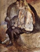 Jules Pascin Malucy Have golden haid china oil painting reproduction