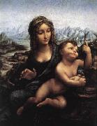 LEONARDO da Vinci Madonna with the Yarnwinder after 1510 china oil painting reproduction