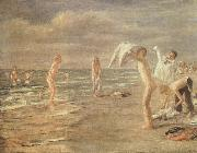 Max Liebermann Boys Bathing china oil painting reproduction
