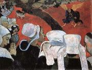 Paul Gauguin Vision after the Sermon  Jacob Wrestling with the Angel china oil painting reproduction