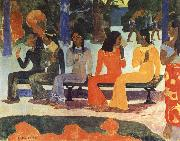 Paul Gauguin We Shall not go to market Today china oil painting reproduction
