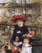Pierre Auguste Renoir On tghe Terrace china oil painting reproduction