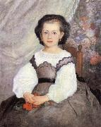 Pierre-Auguste Renoir Mademoiselle Romaine Lacaux china oil painting reproduction