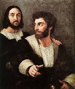 RAFFAELLO Sanzio Double Portrait china oil painting reproduction