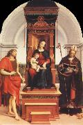 Raphael Virgin and Child with SS.John the Baptist and Nicholas china oil painting reproduction