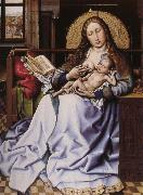 Robert Campin Maria with the child framfor hard china oil painting reproduction