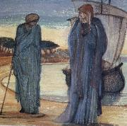 Sir Edward Coley Burne-Jones The Magic Circle china oil painting reproduction