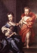 Sir Godfrey Kneller Edward and Lady Mary Howard china oil painting reproduction