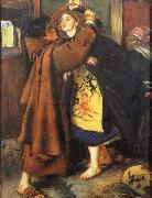 Sir John Everett Millais Escape of a Heretic china oil painting reproduction