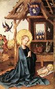 Stefan Lochner Adoration of the Child Jesus china oil painting reproduction