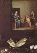 VELAZQUEZ, Diego Rodriguez de Silva y Detail of Jesus in the Mary-s home china oil painting reproduction