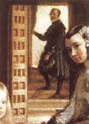 VELAZQUEZ, Diego Rodriguez de Silva y Detail of Palace handmaiden china oil painting reproduction