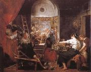 VELAZQUEZ, Diego Rodriguez de Silva y Weaver china oil painting reproduction
