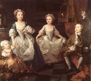 William Hogarth The Graham Children china oil painting reproduction