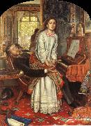 William Holman Hunt The Awakening Conscience china oil painting reproduction