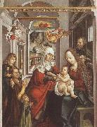 unknow artist Saint Anne with the Virgin and the Child china oil painting reproduction