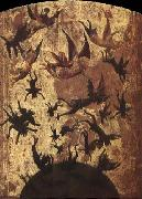 unknow artist Detail of the Fall of the Rebel Angels china oil painting reproduction