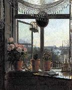 unknow artist View from the Artist-s Window china oil painting reproduction