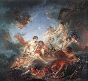 unknow artist Vulcan Presenting Venus with Arms for Aeneas china oil painting reproduction