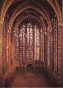 unknow artist Interior from Sainte-Chapelle china oil painting reproduction