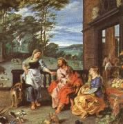 unknow artist Christ at the house of martha and mary china oil painting reproduction