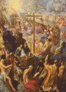 Adam Elsheimer The Exaltation of the Cross from the Frankfurt Tabernacle china oil painting reproduction