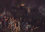 Adam Elsheimer The burning of Troy china oil painting reproduction