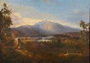 Alvan Fisher Chocorua Peak, Pond and Adjacent Scenery china oil painting reproduction