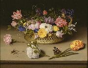 Ambrosius Bosschaert Still Life of Flowers china oil painting reproduction