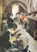Anders Zorn spetsknypplerskor china oil painting reproduction