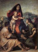 Andrea del Sarto Holy Family with Angels china oil painting reproduction