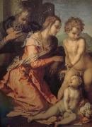 Andrea del Sarto Holy Family china oil painting reproduction