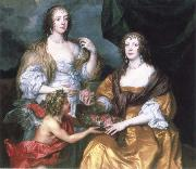 Anthony Van Dyck lady elizabeth thimbleby and dorothy,viscountess andover china oil painting reproduction