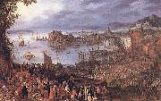BRUEGHEL, Jan the Elder The Large Fishmarket china oil painting reproduction