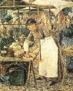 Camille Pissarro Butcher china oil painting reproduction