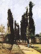Camille Pissarro Avenue china oil painting reproduction