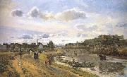 Camille Pissarro Pang plans raft Schwarz china oil painting reproduction