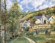Camille Pissarro Pang map of the iceberg Schwarz china oil painting reproduction